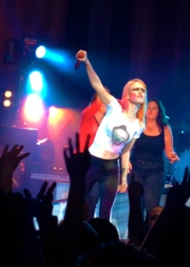 Hayley Williams at Hammerstein Ballroom May 2013. Image courtesy of Alex B.