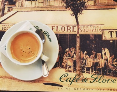 Although Cafe Flore is quite expensive for a typical college student, I couldn't say no because it allowed me to cross off an item on my bucket list.
