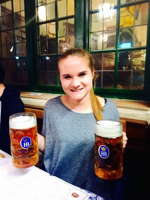 Because two beer steins are better than one.