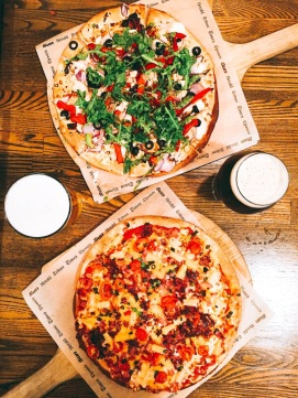 Is there a better combination than pizza and beer? Thanks, Pizza Press.
