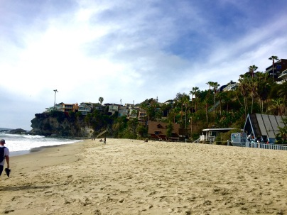 After walking on Laguna Beach, Jordan took me to Thousand Steps Beach a short drive away.