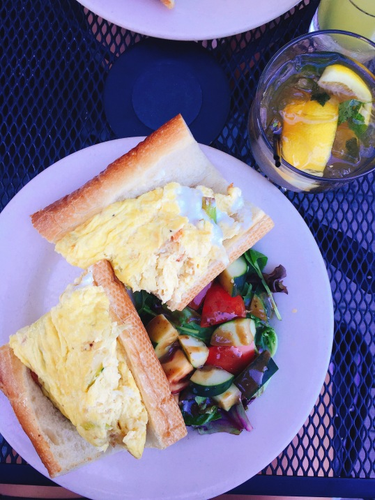 omelette boston parish cafe