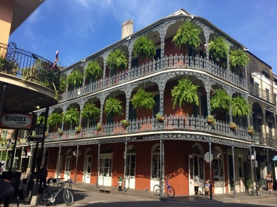 New Orleans balconies