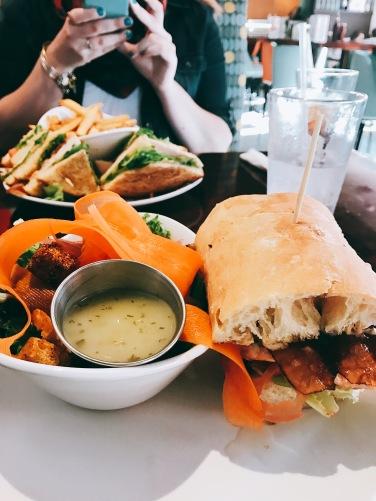 Modern Malt sandwich