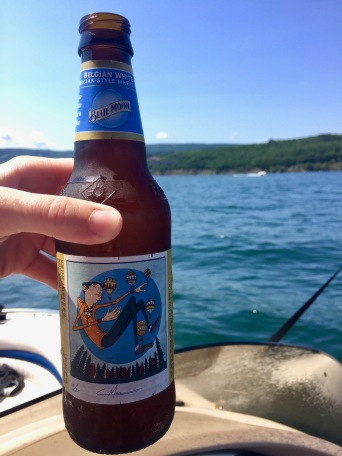 Blue Moon and boating