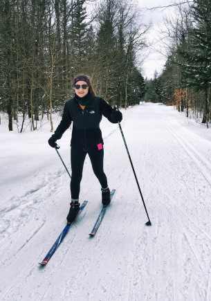 I found out on this trip that I'm more comfortable downhill skiing. Location: Osceola-Tug Hill Cross Country Ski Center