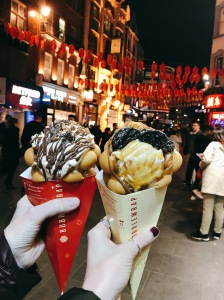 bubblewrap ice cream in London Chinatown