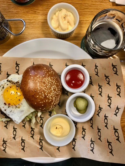 Hangover Beef Burger