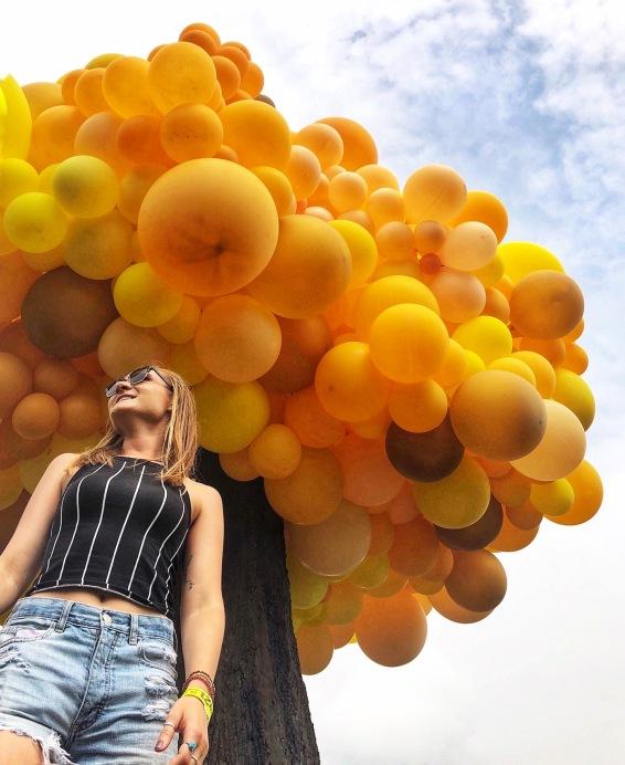 governor's ball balloon tree